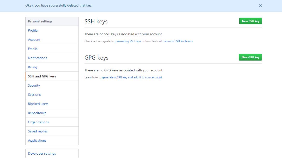 Klucze SSH w GitHub